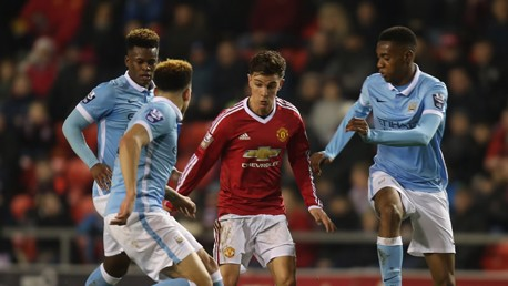 Man Utd U21s v City EDS: Highlights