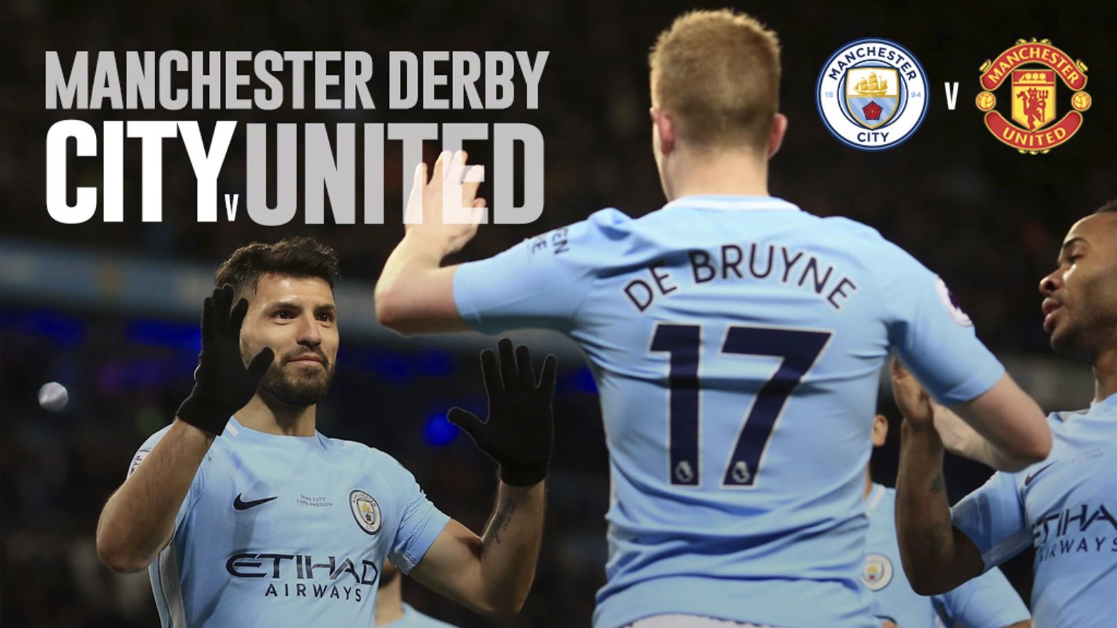 City v United: LIVE!