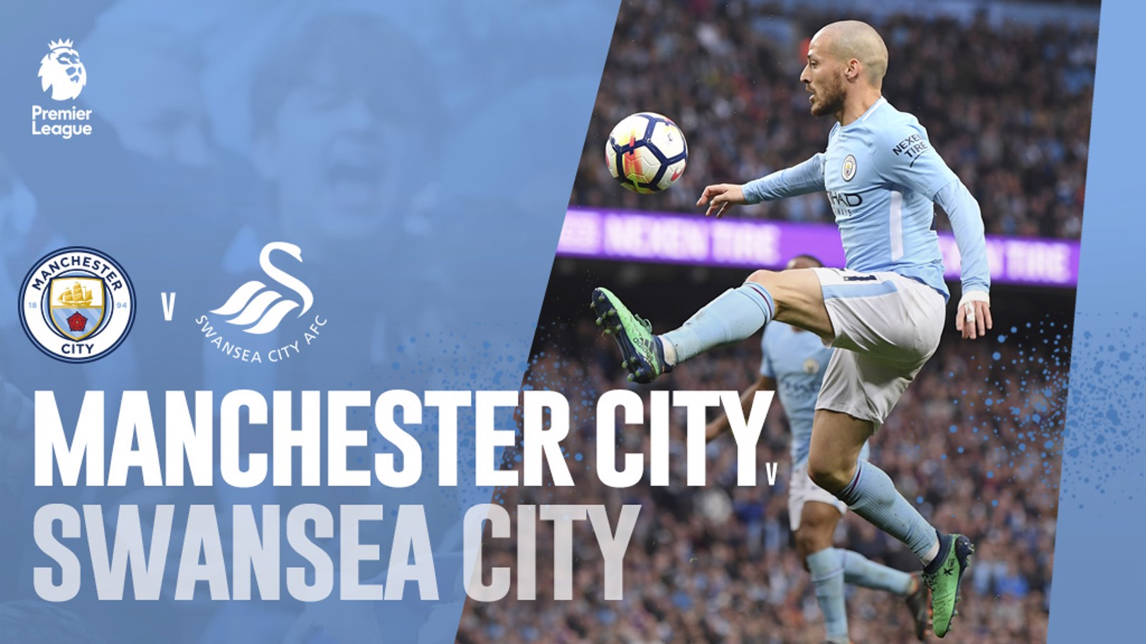 CITY-SWANSEA. 35ª jornada de la Premier League.