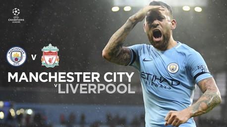 El Manchester City tratará de remontar la ventaja de tres goles con la que llegará el Liverpool.