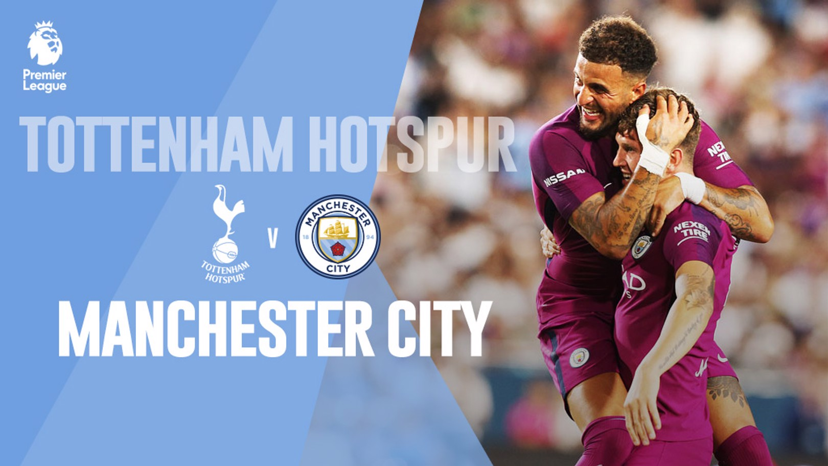 Tottenham x Man City