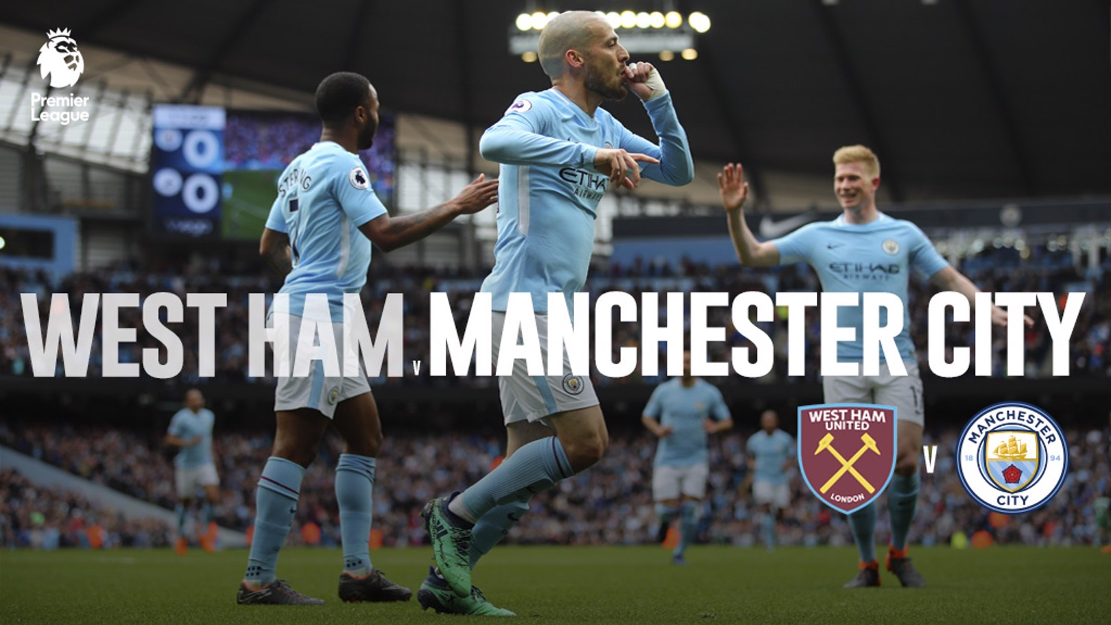 West Ham v City: LIVE!