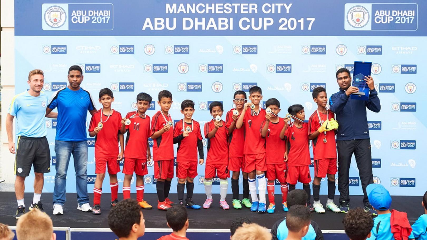حظيت النسخة الأولى من كأس مانشستر سيتي أبوظبي بنجاح كبير
