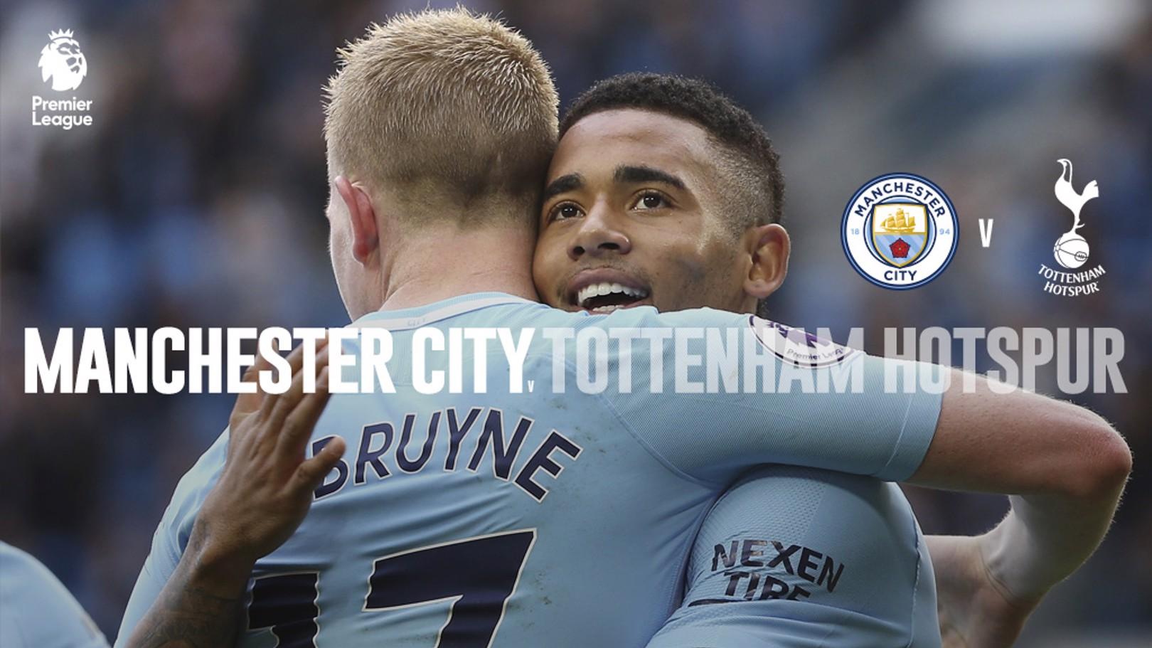 Man City x Tottenham