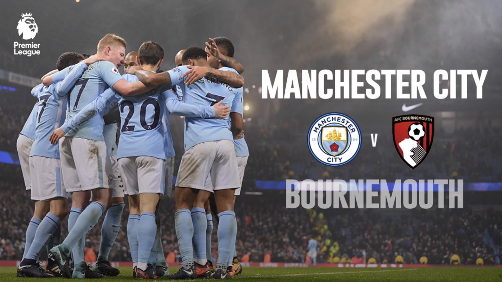Man City x Bournemouth