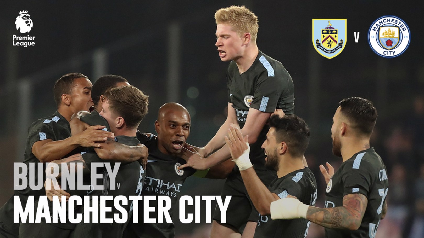 Burnley x Man City PL