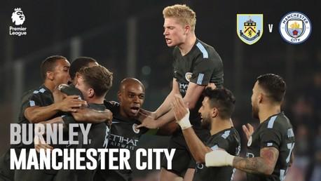 Burnley x Man City PL