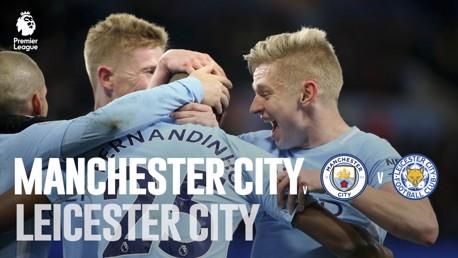 Man City x Leicester