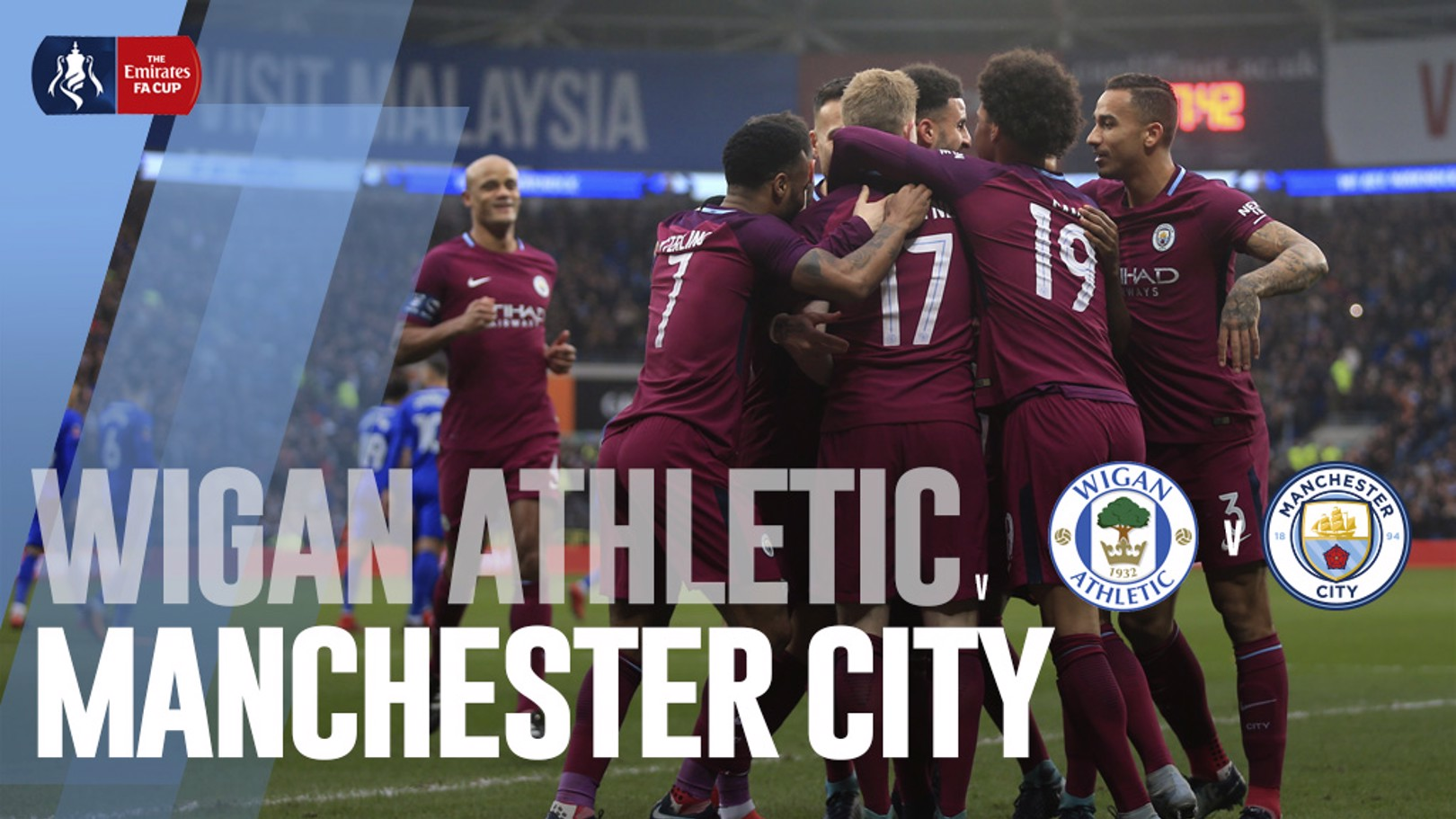 Wigan Athletic - Manchester City.