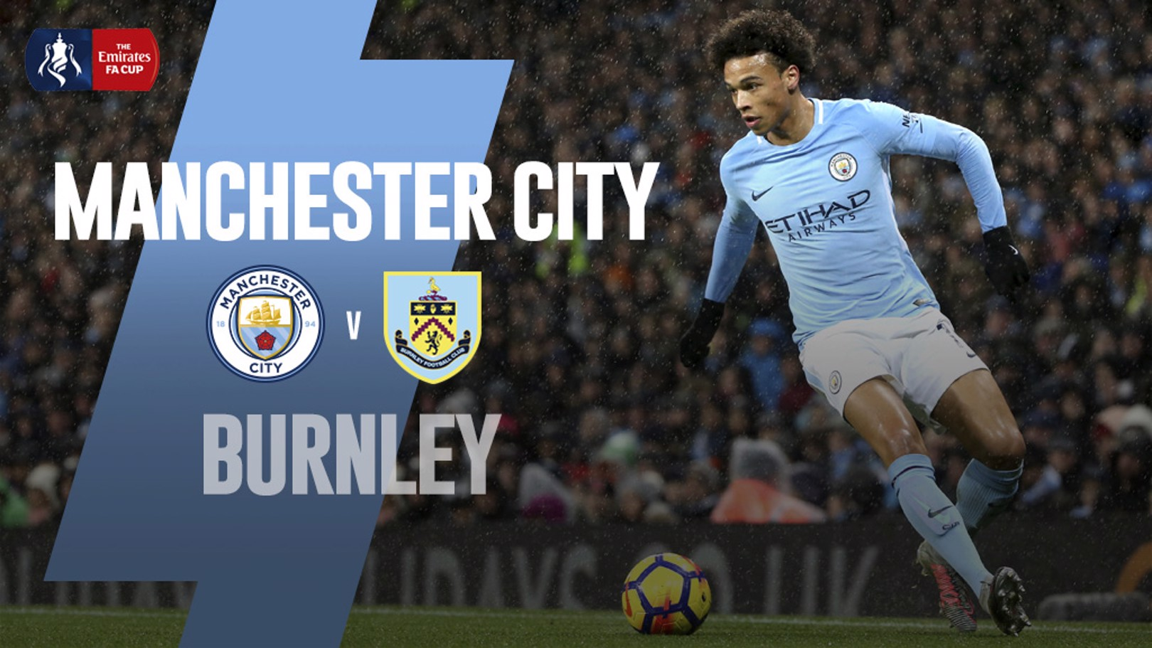CITY-BURNLEY. Tercera ronda de la FA Cup.