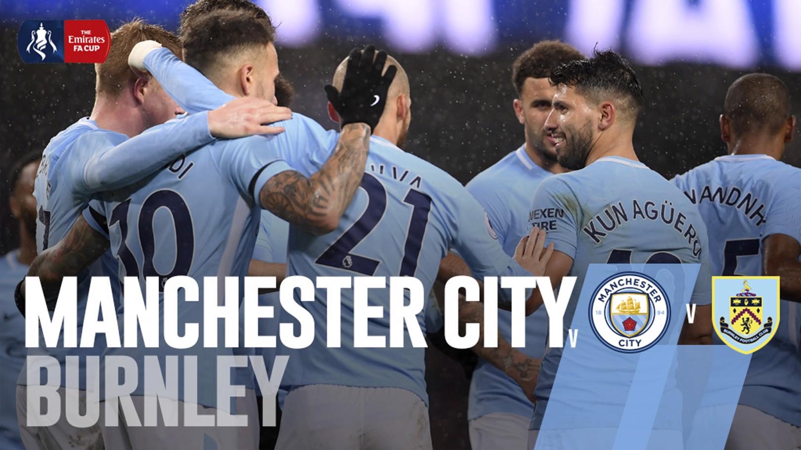 Man City x Burnley