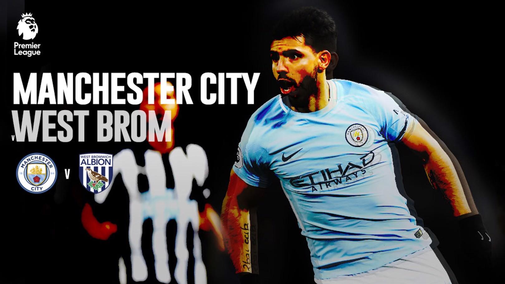 CITY-WBA. 25ª jornada de la Premier League.