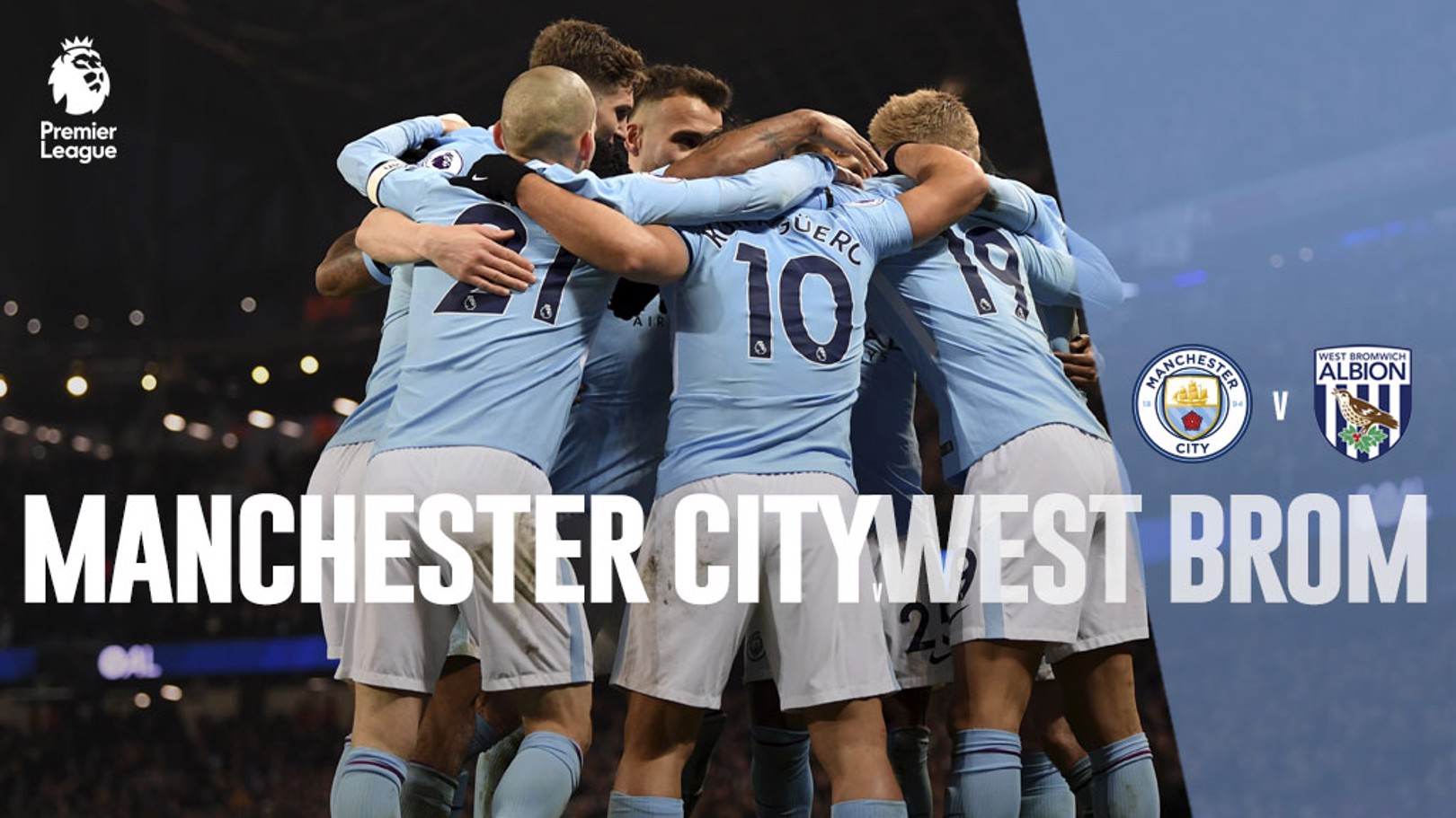 Man City x West Brom