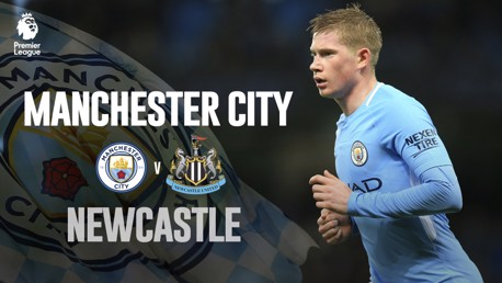 Man City x Newcastle De Bruyne