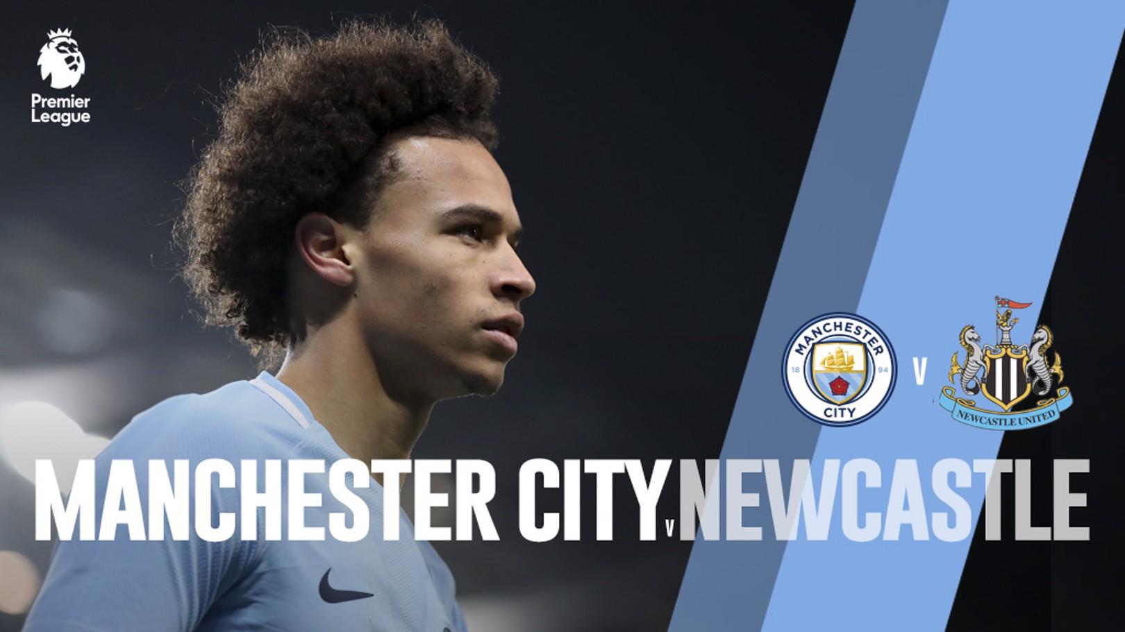 Man City x Newcastle
