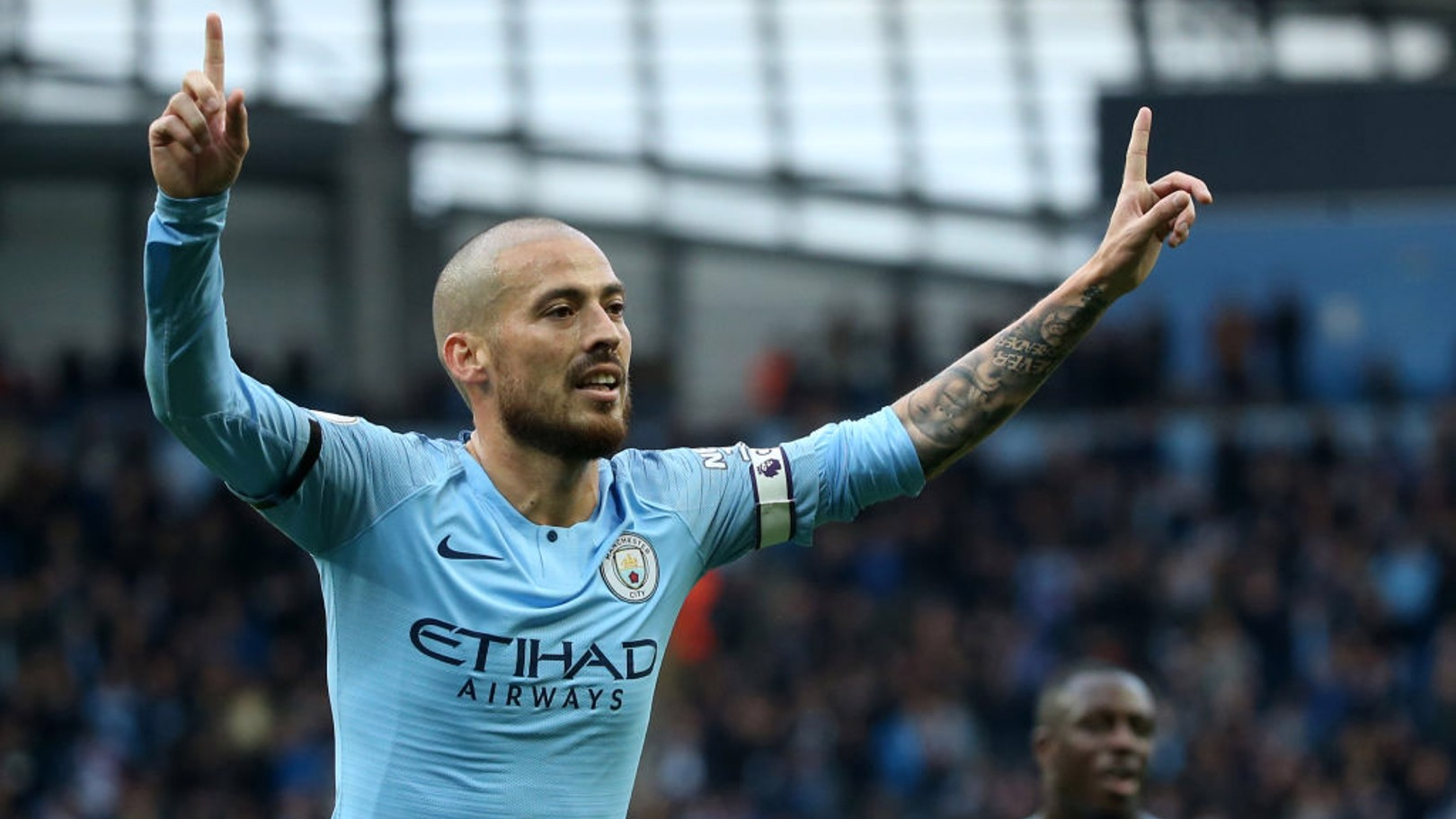 DAVID SILVA. 267 partidos de Premier League con el City.