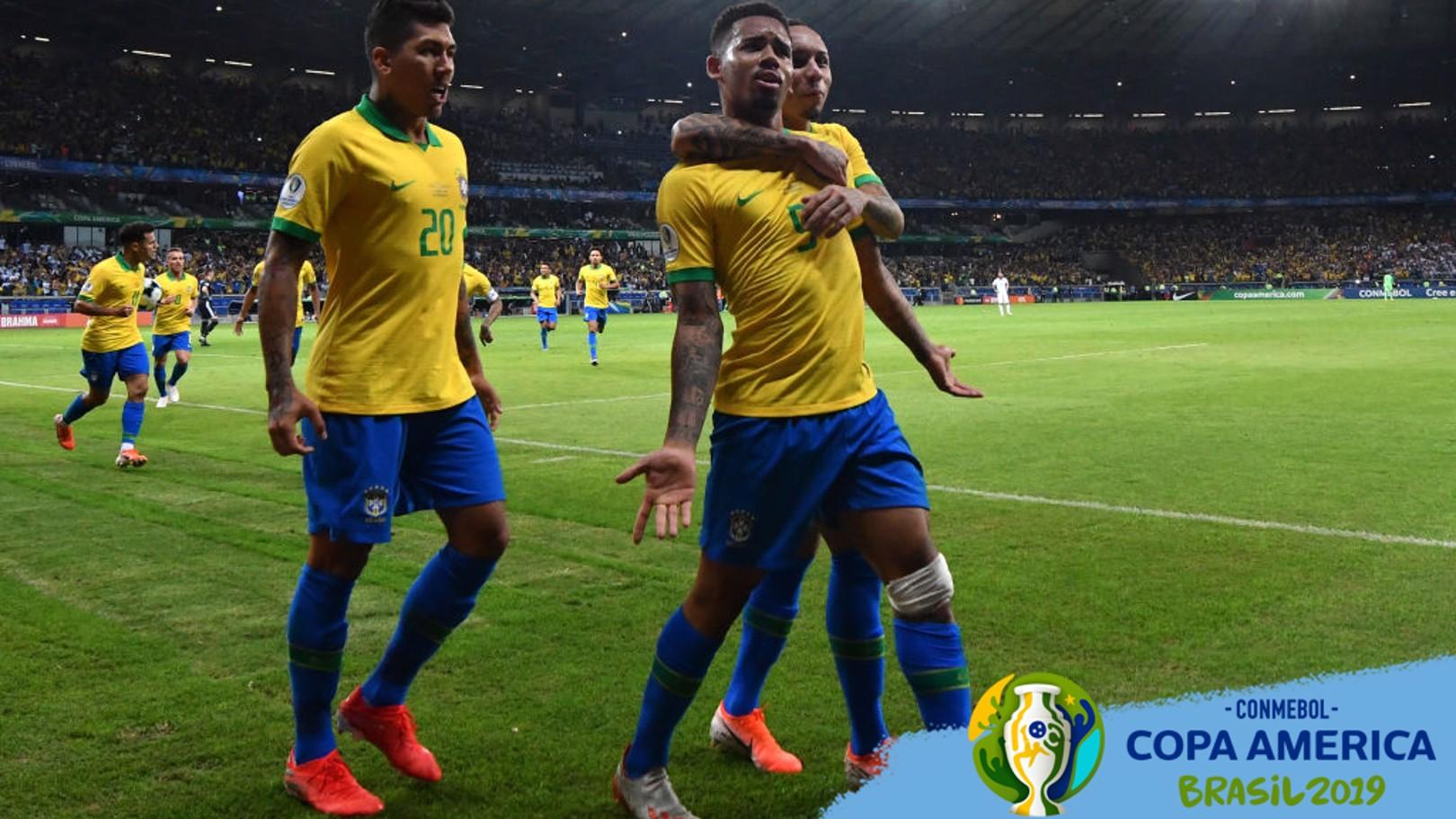 FINAL. Brasil y Perú luchan por la Copa América 2019.