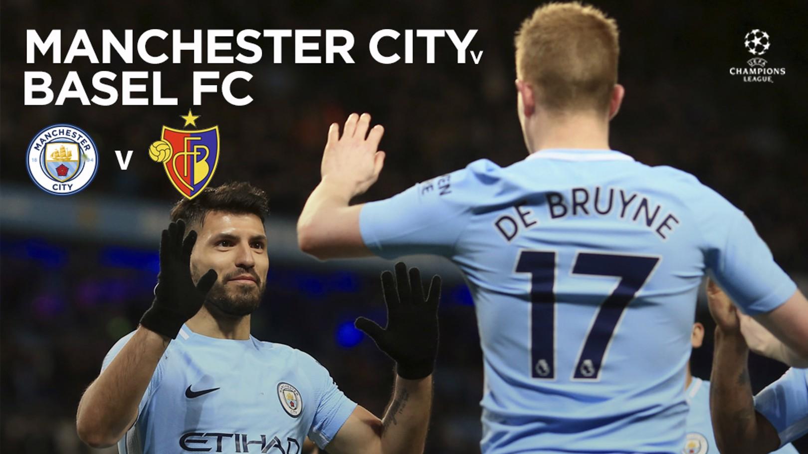 Manchester City - Basilea.