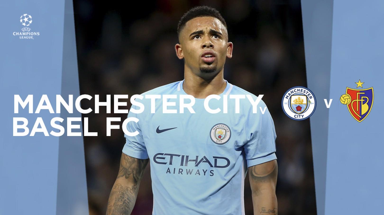 City v Basel: LIVE!