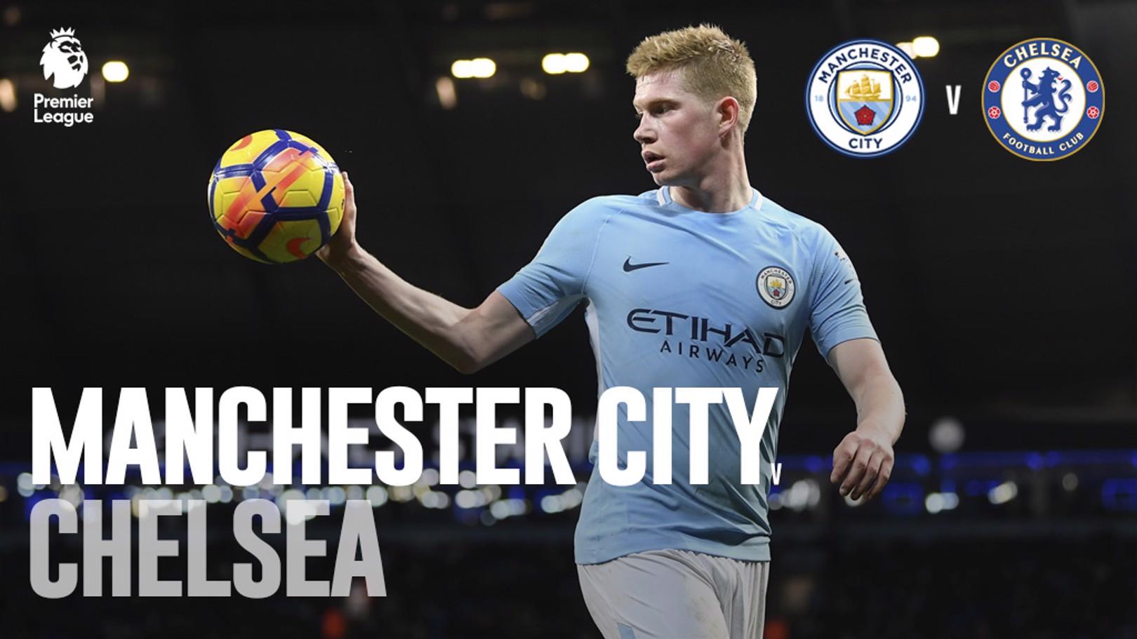 City v Chelsea: LIVE!