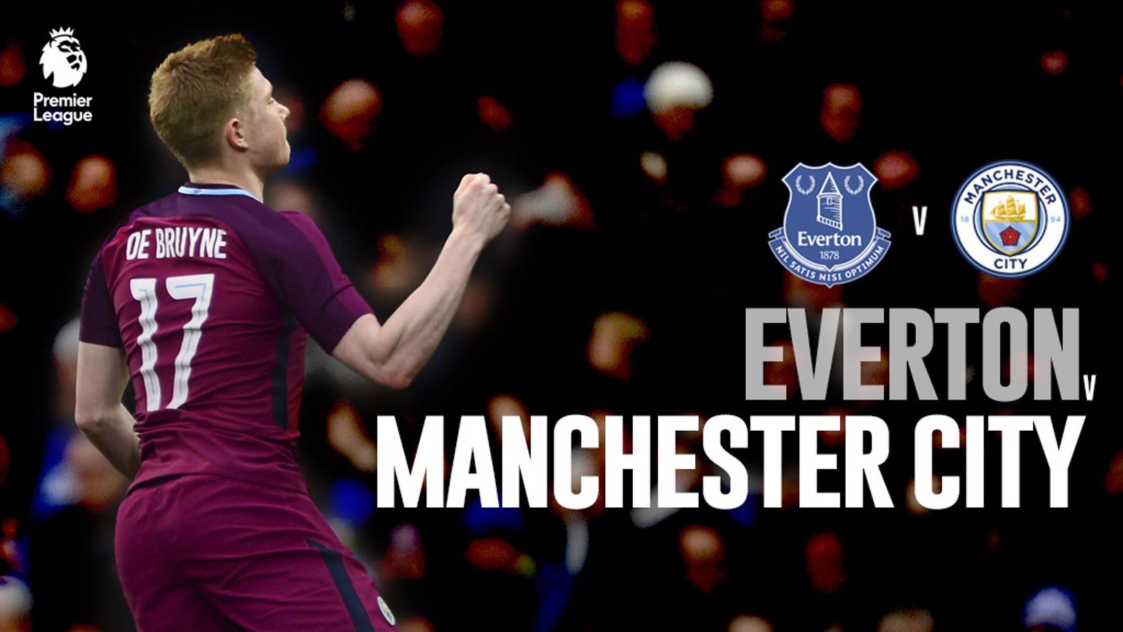 Everton vs City : En direct !