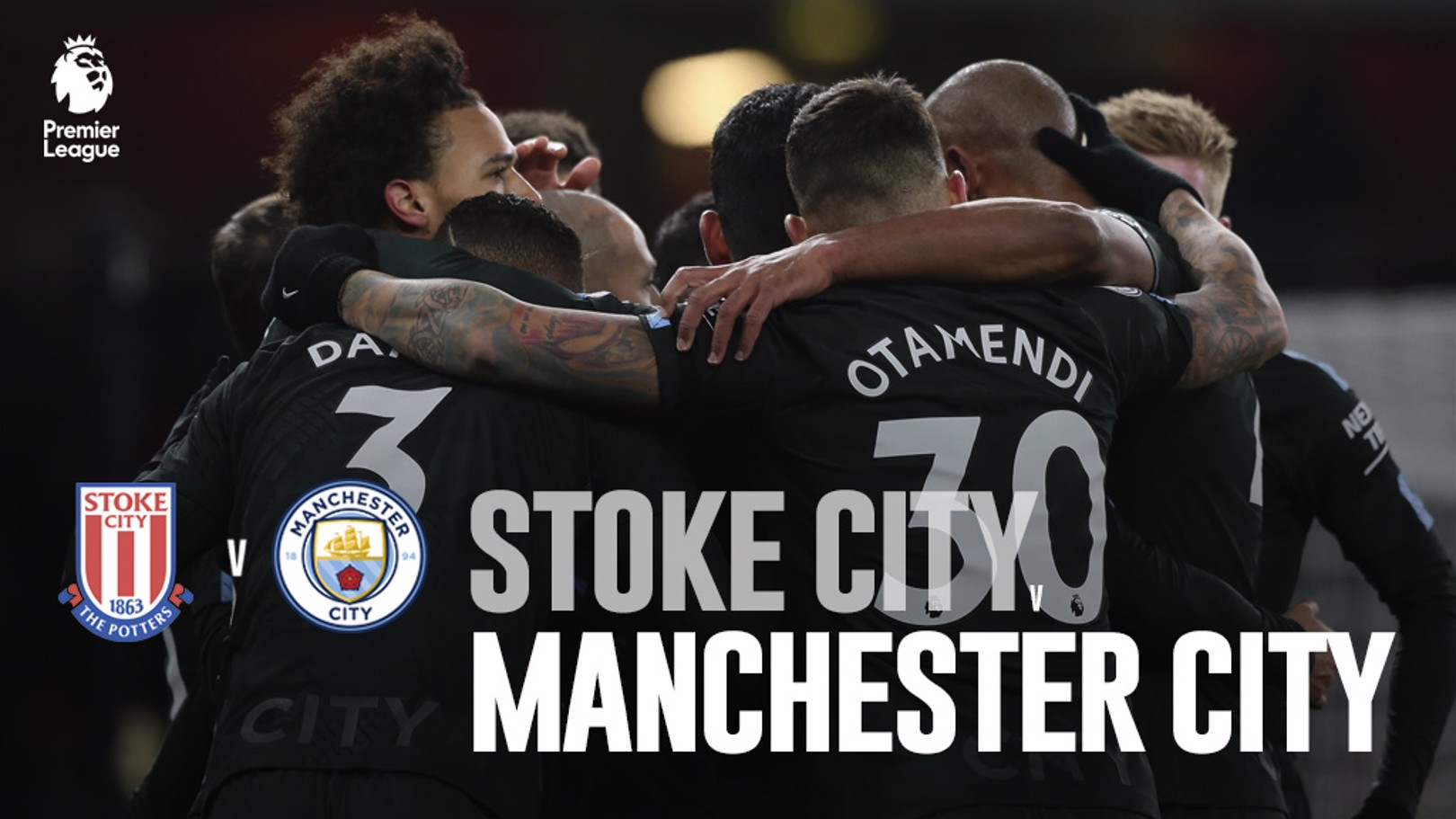 Stoke City - Manchester City.