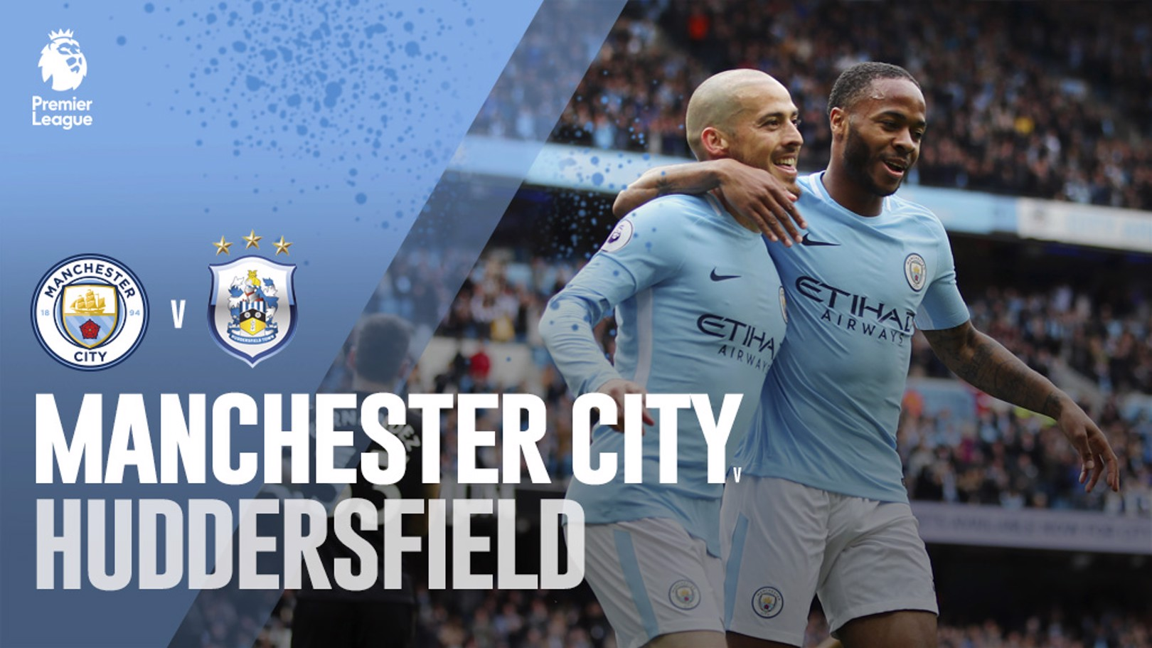 City v Huddersfield: LIVE!