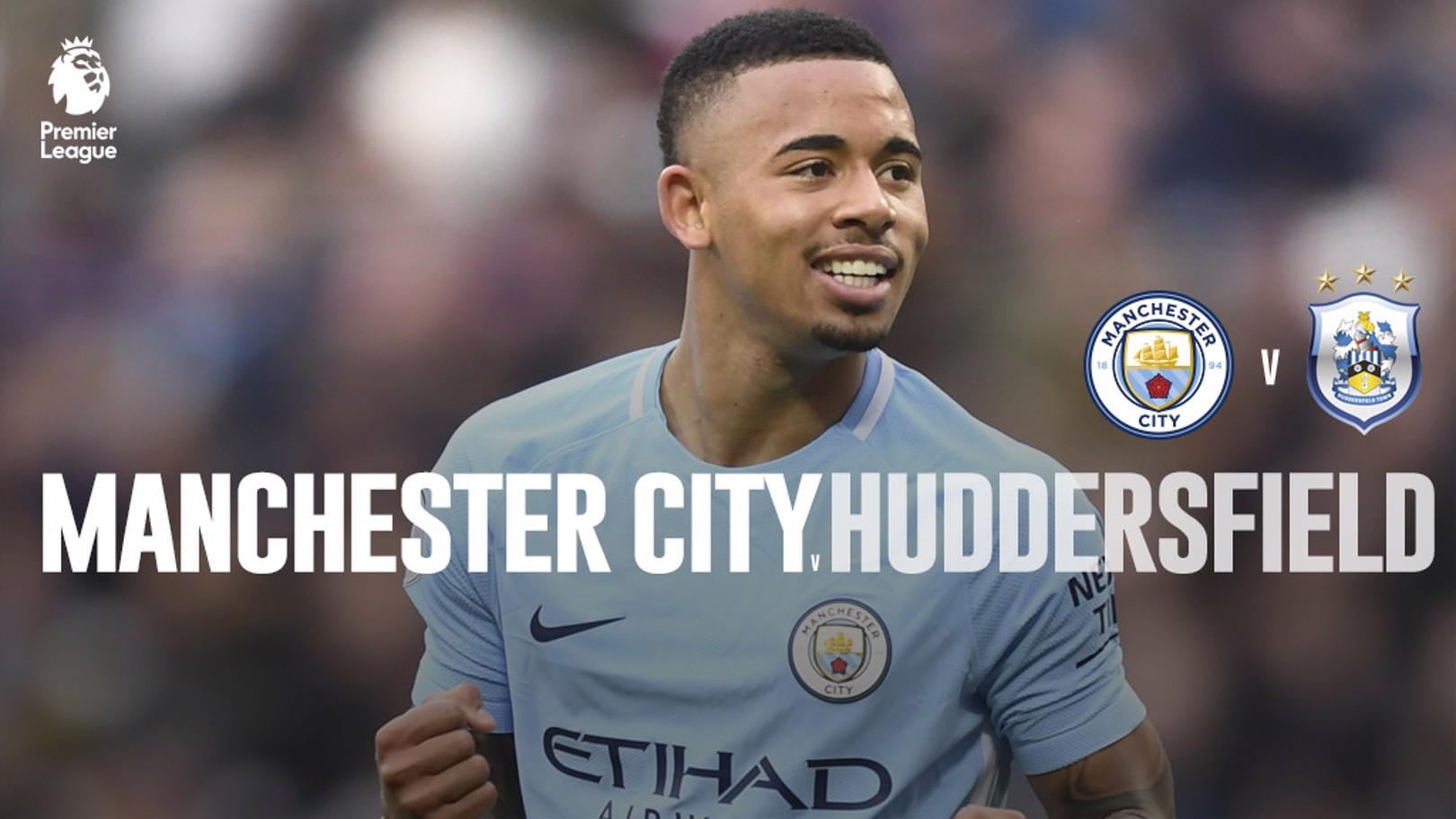 Man City x Huddersfield