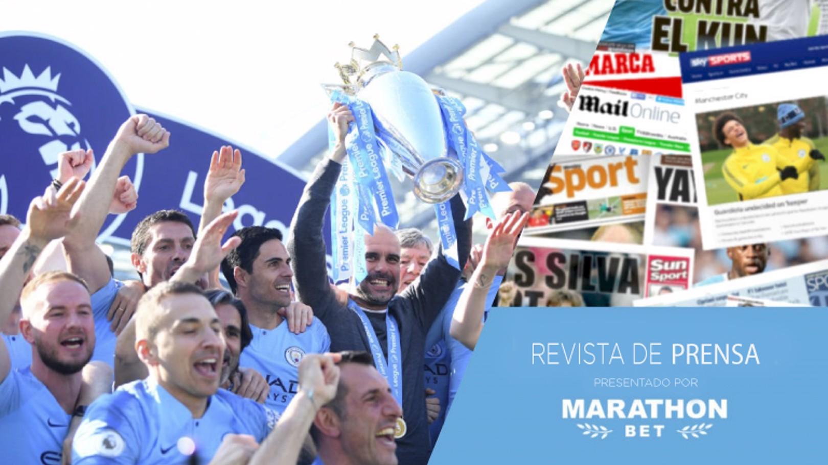¡Campeones de la Premier League!