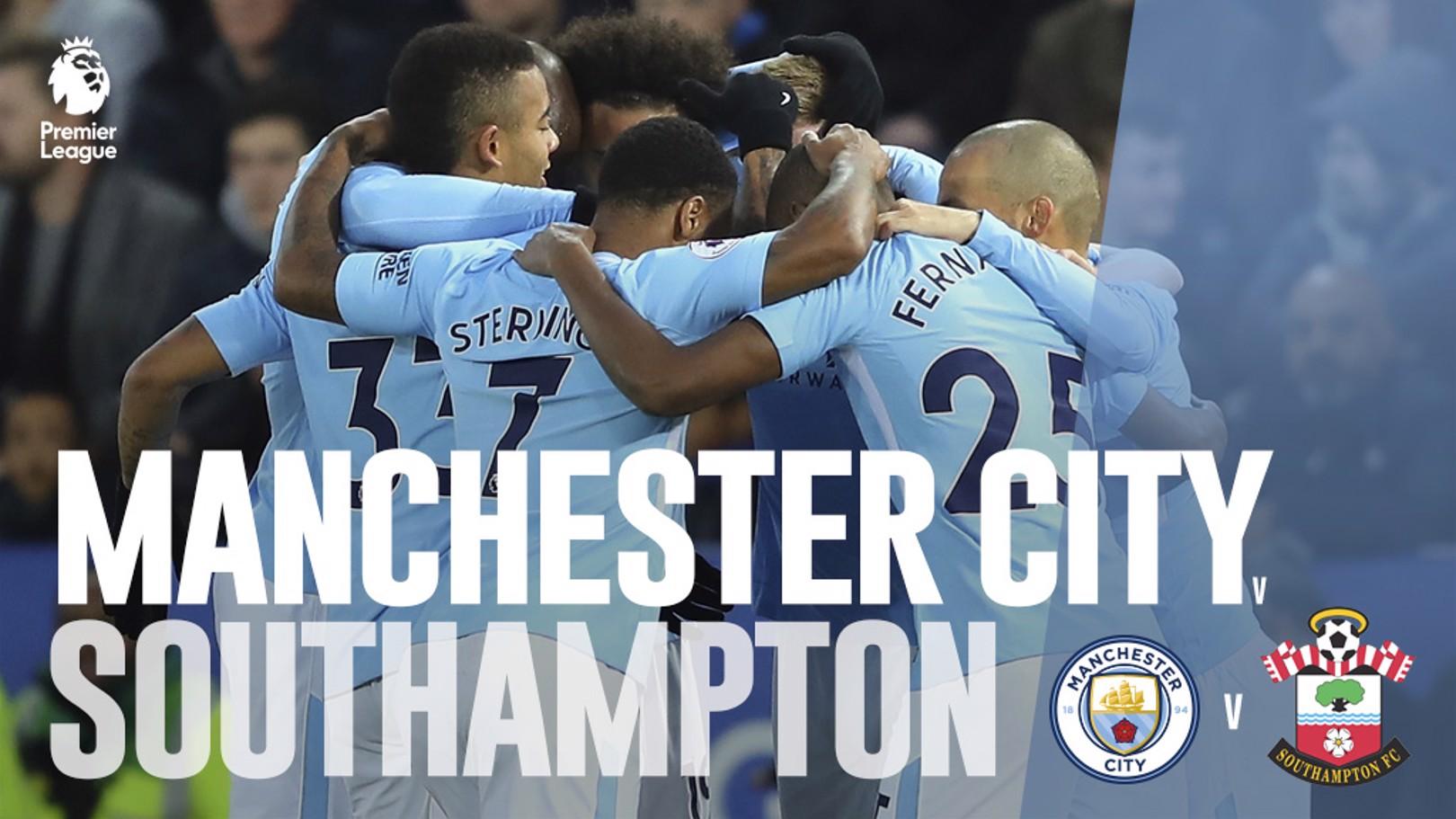 Man City x Southampton