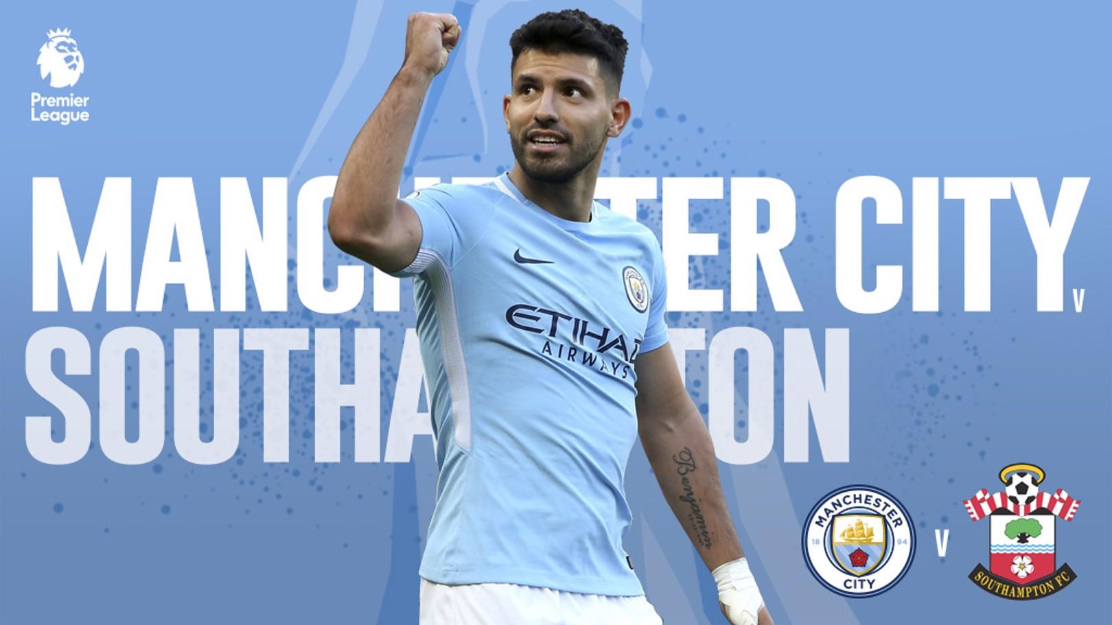 CITY-SOUTHAMPTON – Decimocuarta jornada de la Premier League.