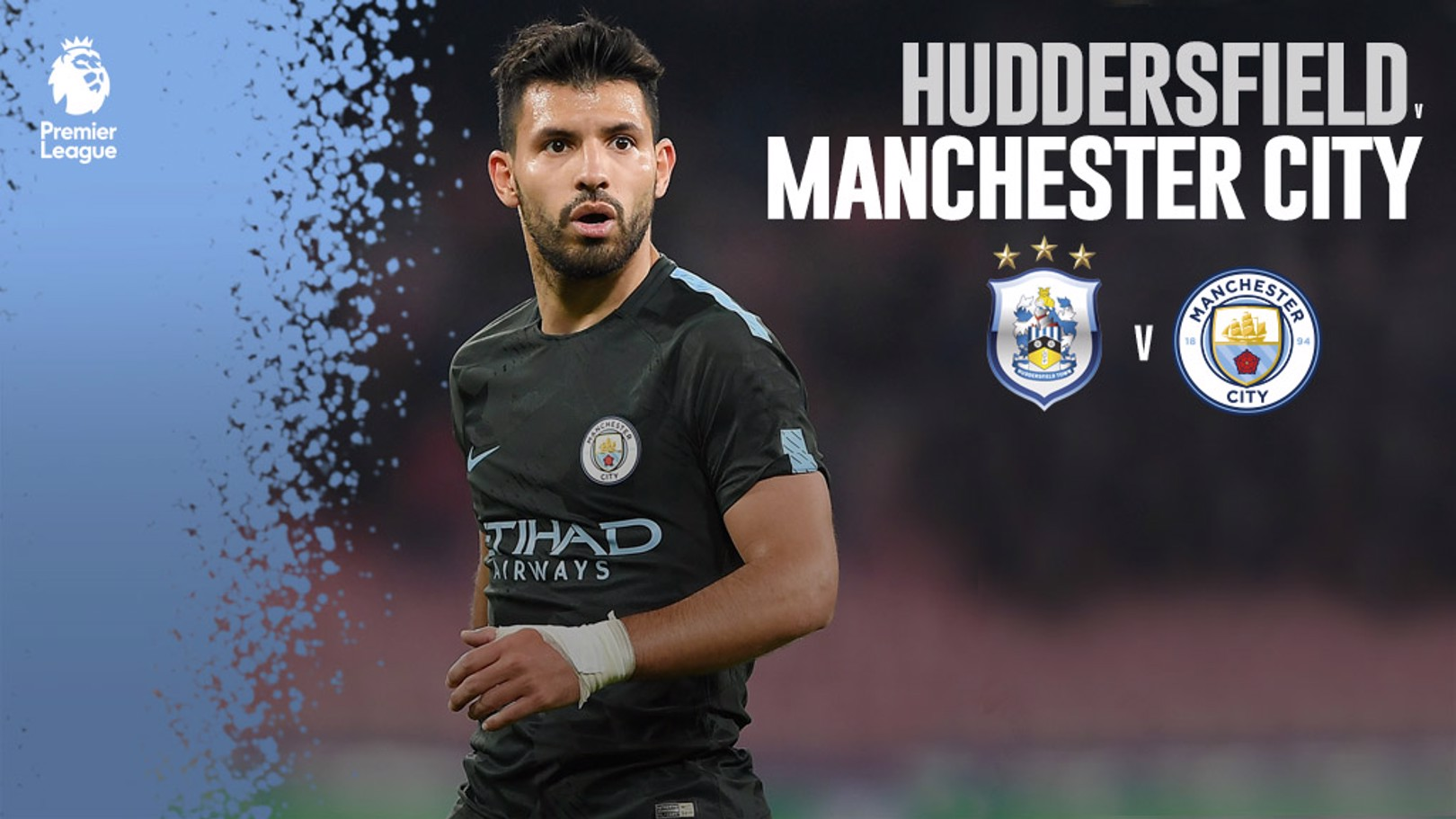 HUDDERSFIELD - CITY. Decimotercera jornada de la Premier League.