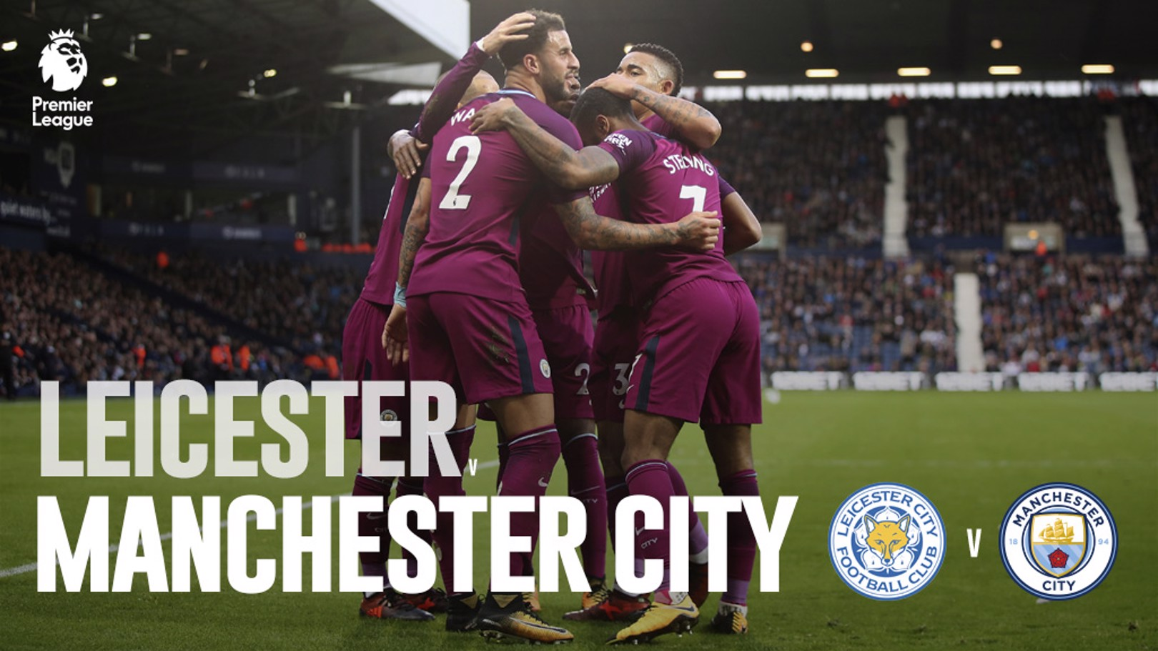 Leicester x Man City