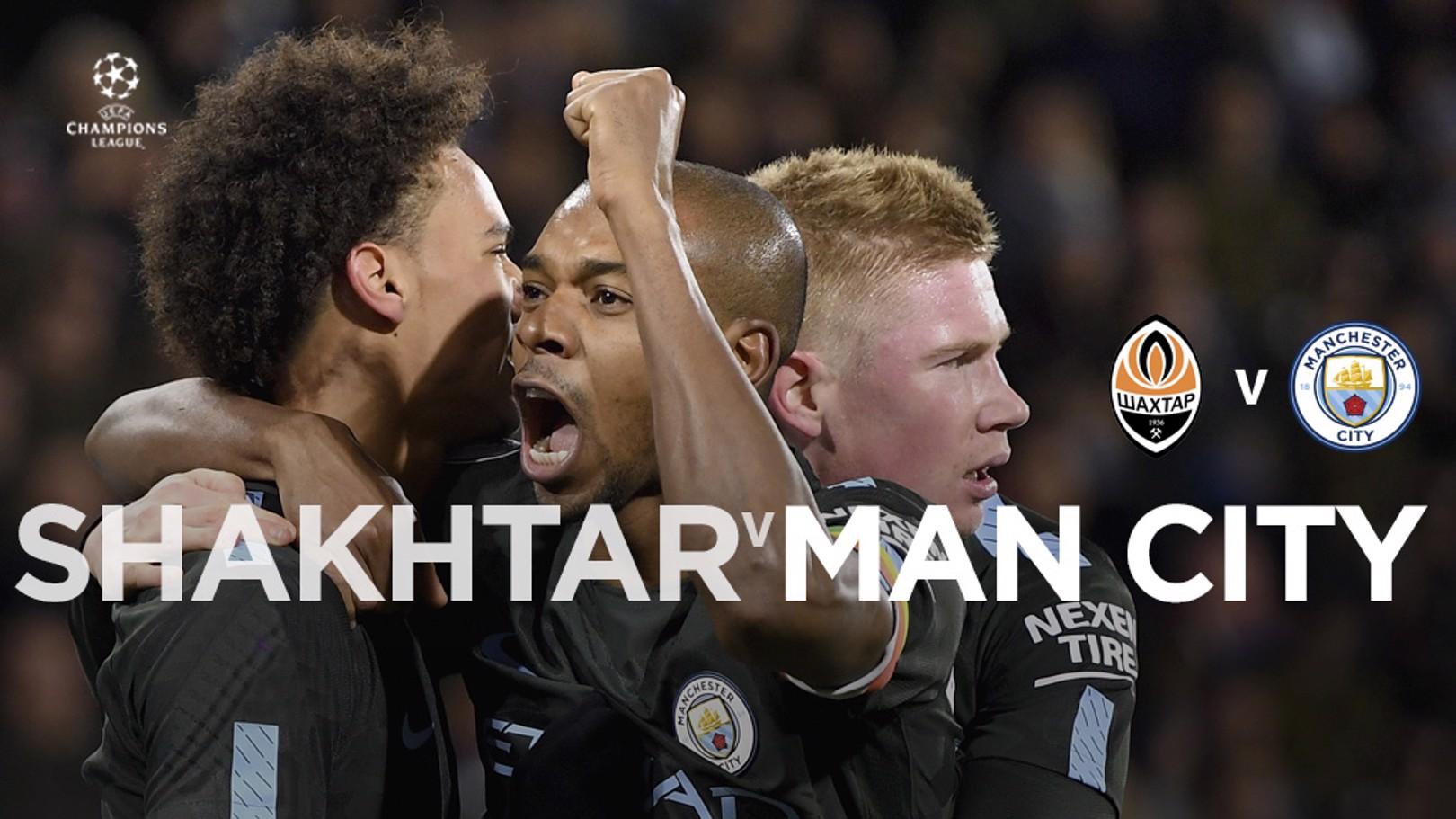 Shakhtar x Man City