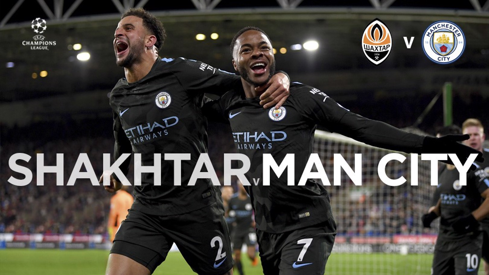 Shakhtar x Man City