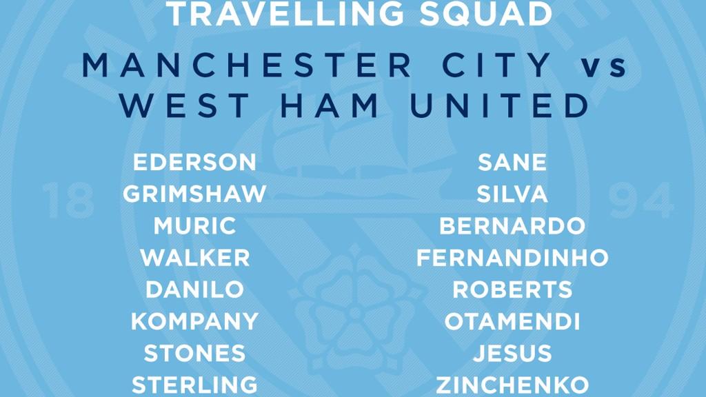 Os 23 jogadores do City de viagem à Islândia