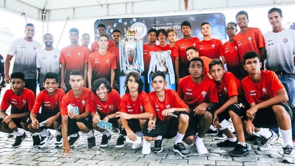 Turnê dos troféus do City pelo Brasil!