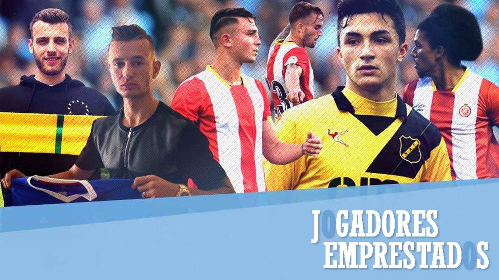 Jogadores Emprestados: Trio do City em campo