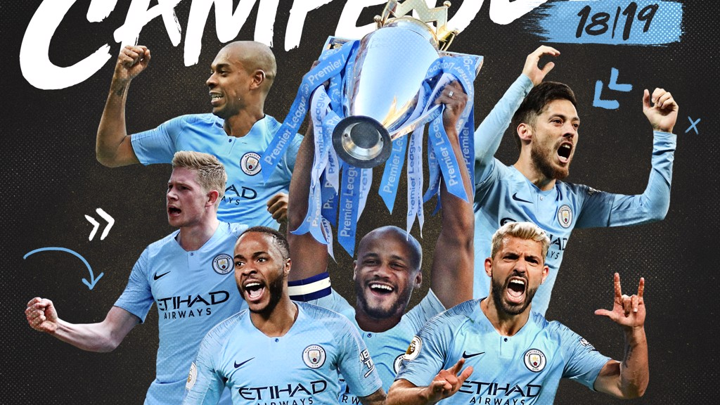 City campeão da Premier League