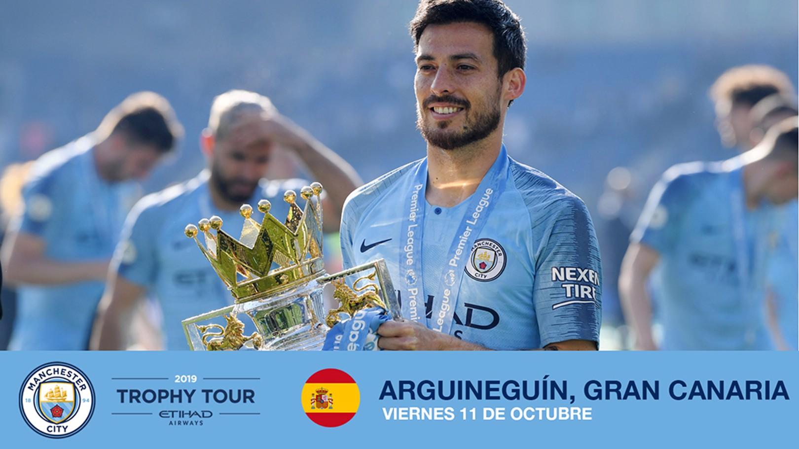 TROPHY TOUR. Los trofeos del City visitarán Gran Canaria.