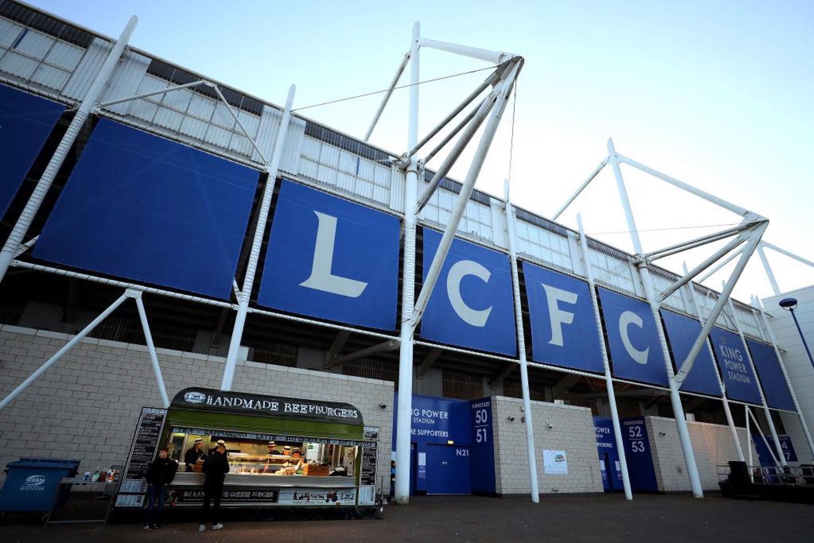 El King Power Stadium, hogar del Leicester City.