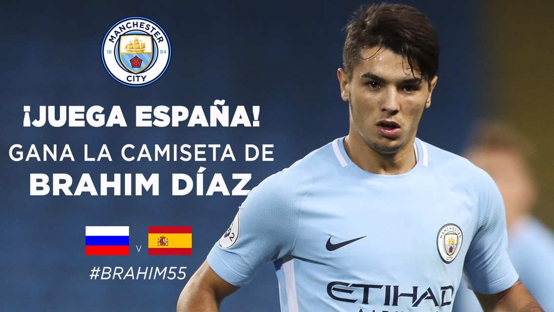 Acierta el resultado del España - Rusia y llévate una camiseta de Brahim.