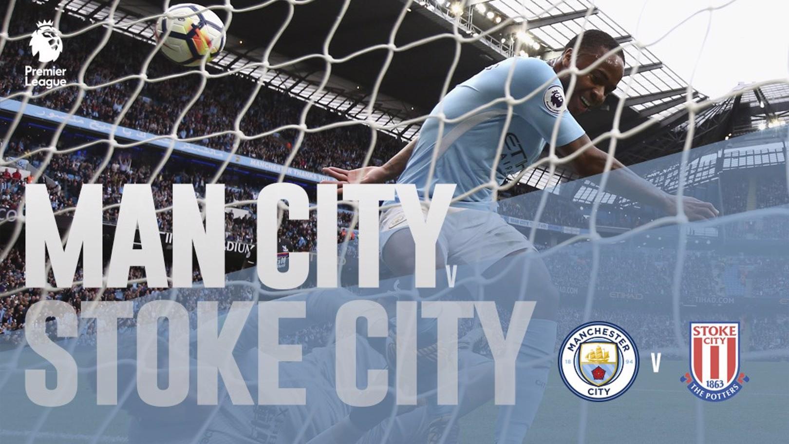 Manchester City - Stoke City.