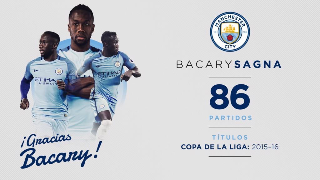 Bacary Sagna deja el Manchester City