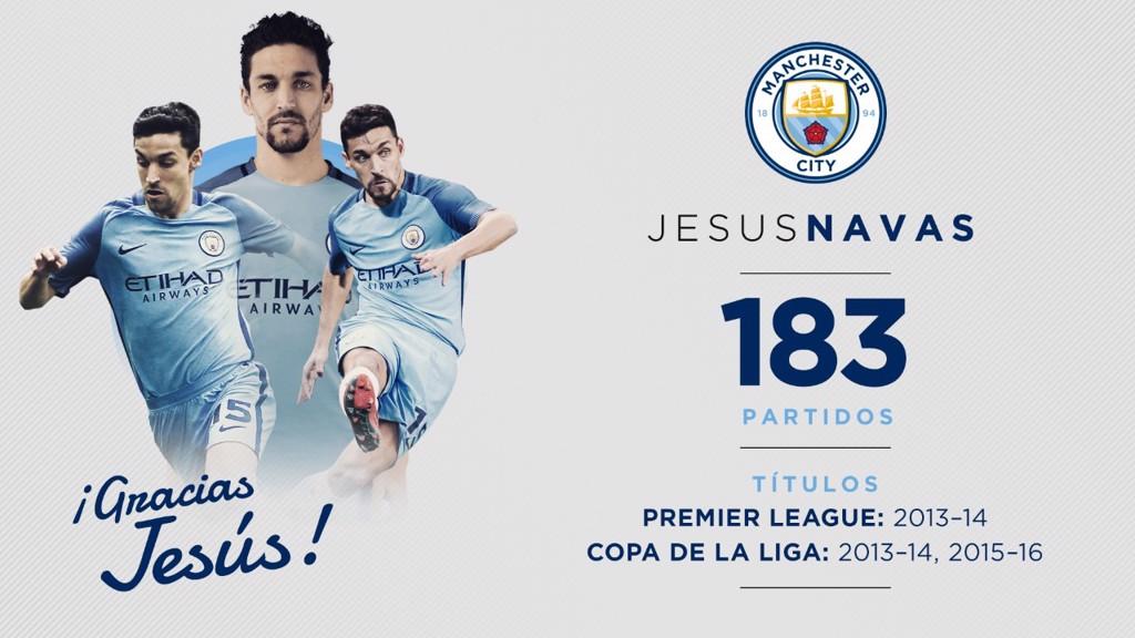 Jesús Navas deja de ser jugador del City