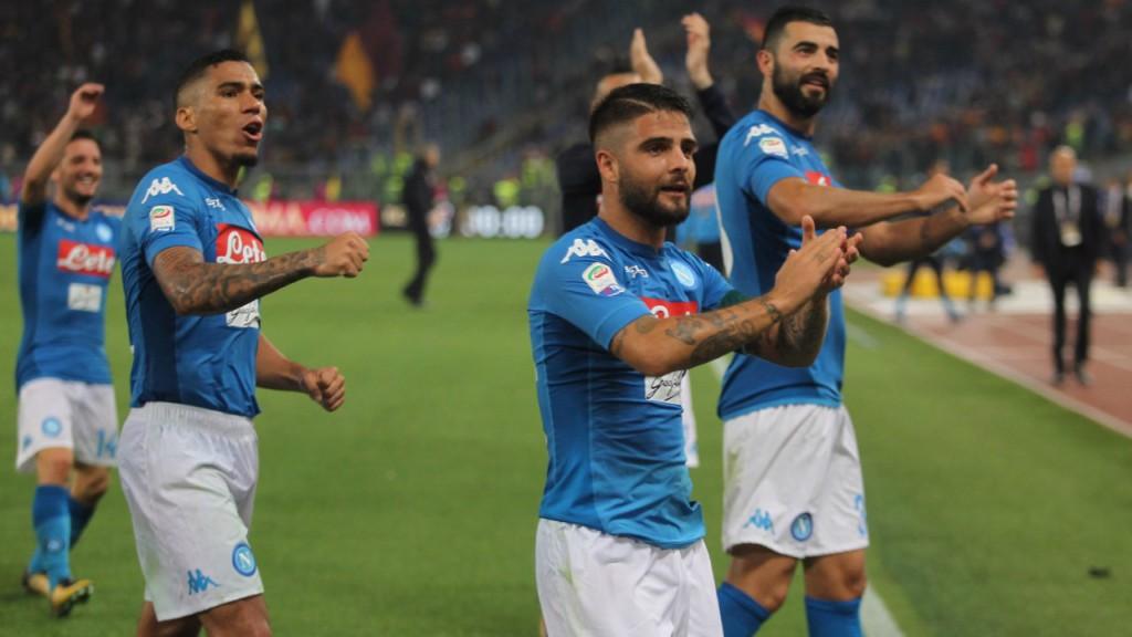LORENZO INSIGNE. El italiano marca las diferencias en el Nápoles.