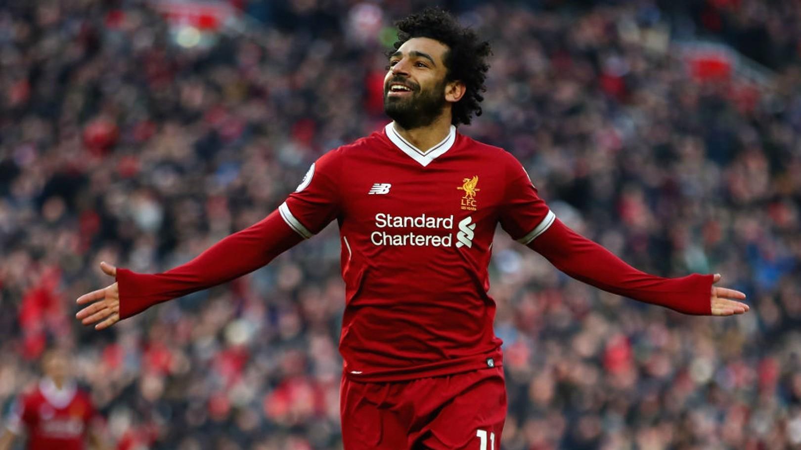 MOHAMED SALAH. El nombre propio de la temporada del Liverpool.