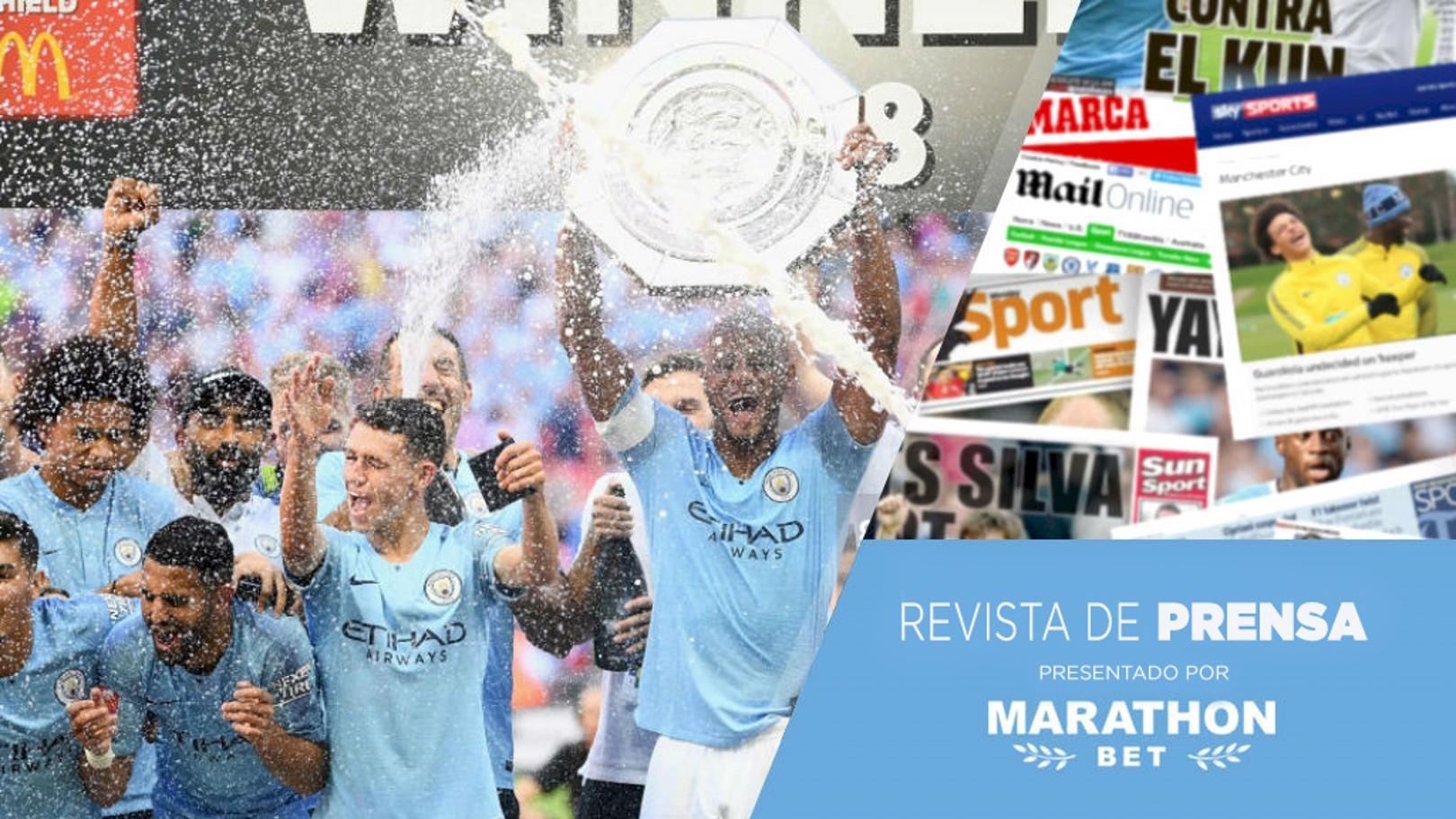 REVISTA DE PRENSA. Campeones de la Community Shield.