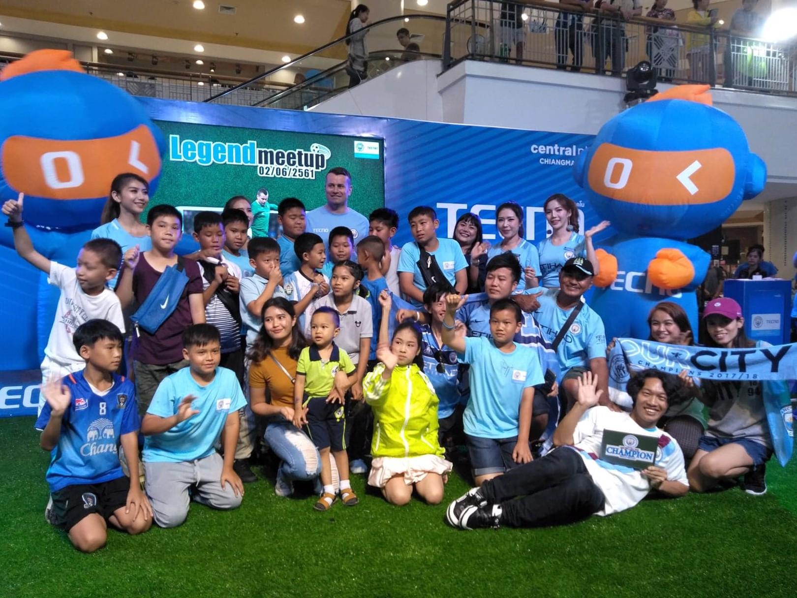 แฟนบอลชาวไทยได้ไปร่วมงาน Meet & Greet กับเชย์ กีฟเว่น นักเตะตำนานของสโมสรแมนเชสเตอร์ ซิตี้ ที่จังหวัดเชียงใหม่