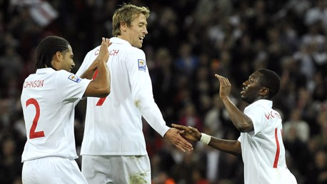 Shaun Wright Phillips for England